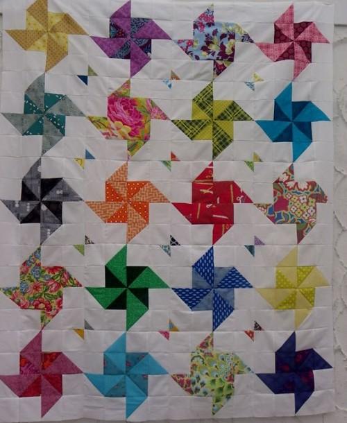Half Square Triangle Quilt - Tutorial
