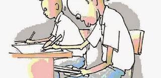 9800 Gambar Kartun Anak Mencontek Terbaik