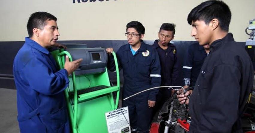 MINEDU eligió las mejores buenas prácticas en la educación técnico productiva y superior tecnológica y artística - www.minedu.gob.pe