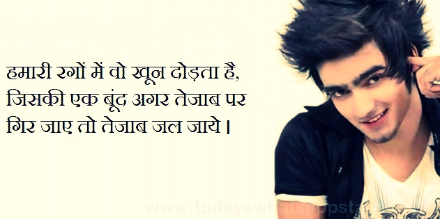 Send Flowers In India 10 Royal Nawabi Atiitude Whatsapp Status In Hindi