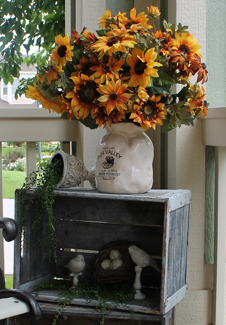 Summer Porch- Southern Seasonz-Treasure Hunt Thursday- From My Front Porch To Yours