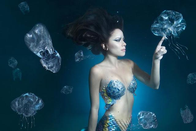 Project Mermaids - Fotógrafos convidam mulheres do mundo todo a virarem Sereias