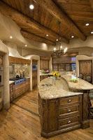 ideas de interiores de cabañas de madera