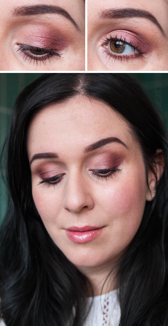 Beauty: MakeupRevolution Flawless palette soft red smokey eye