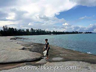 Foto Terbaru Yusuf Mahardika di Pantai