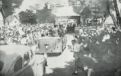 Sukarno kembali ke Yogyakarta pada Juni 1949