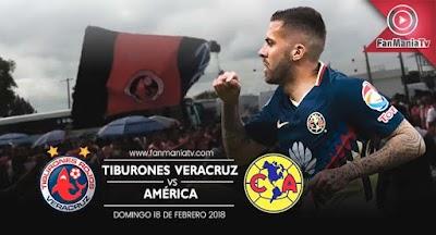 EN VIVO: Tiburones Rojos vs América por la Liga MX Clausura 2018