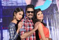 Haranath Policherla Mounika Nishi Ganda Pos at Tick Tock Telugu Movie Trailer Launch Event  0036.jpg
