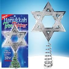 Hanukkah Tree Topper On Shark