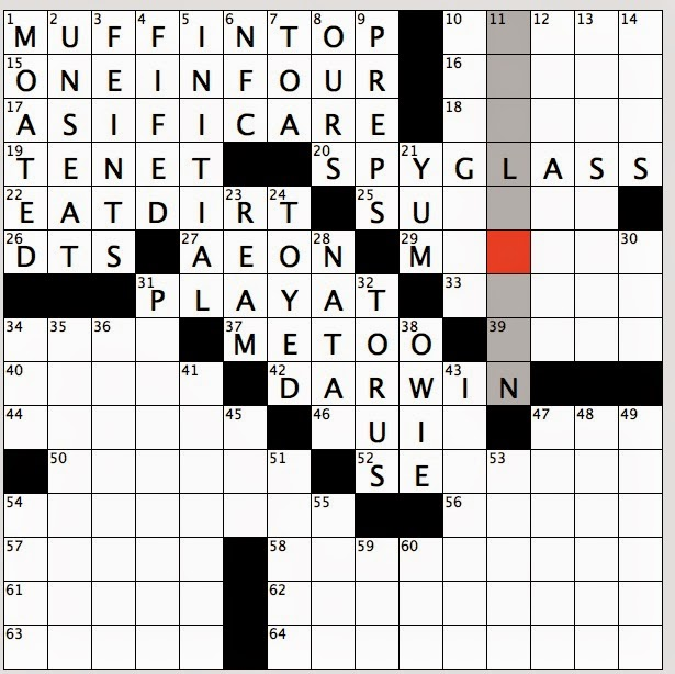 Rex Parker Does the NYT Crossword Puzzle: First human