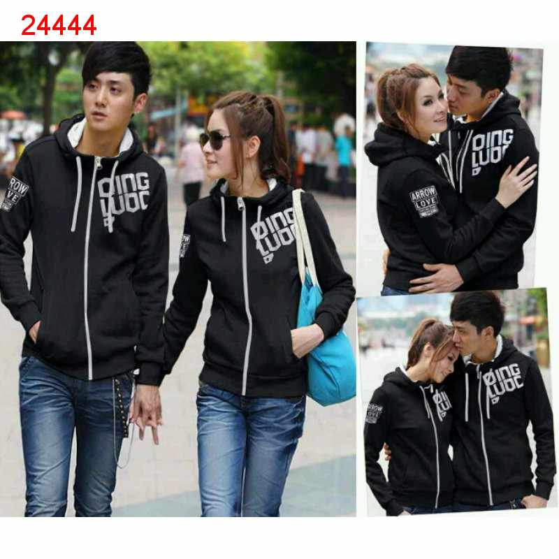 Jual Jacket Couple Jaket Qing Black Cloud - 24444