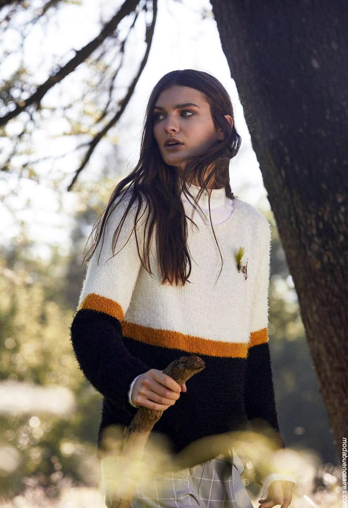 Sweaters invierno 2019 moda mujer. Moda invierno 2019.