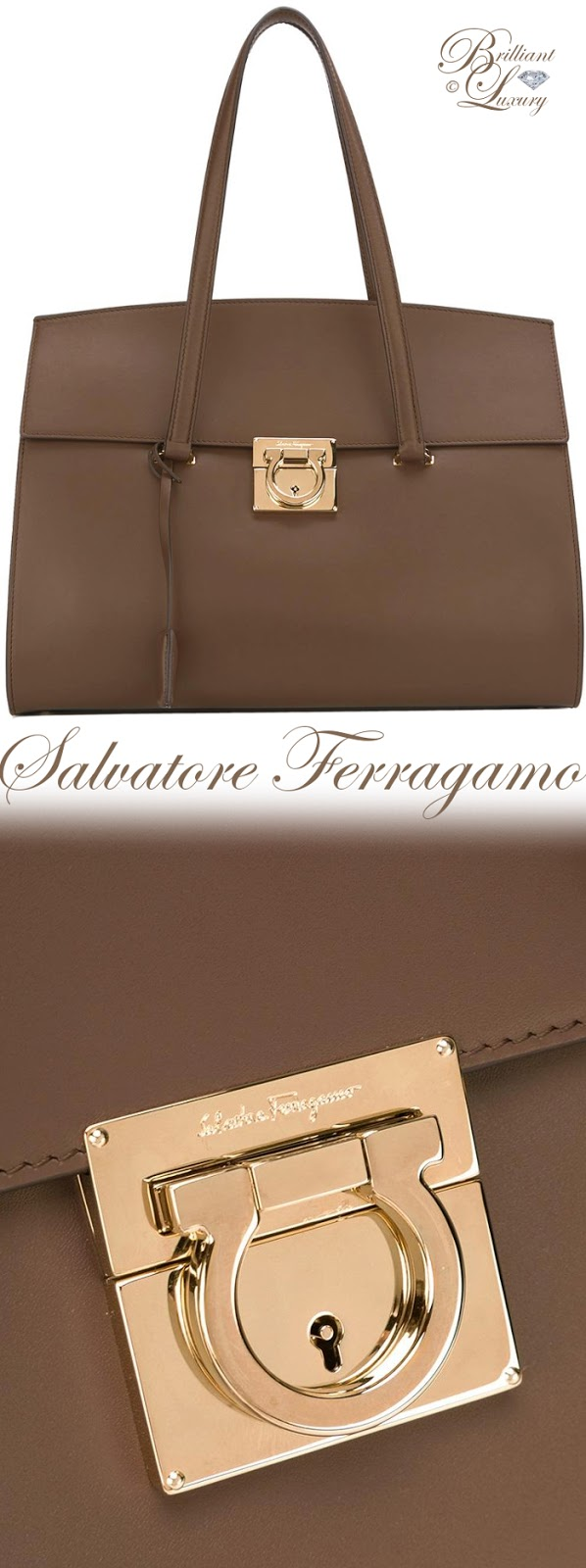 Brilliant Luxury ♦ Salvatore Ferragamo Mara Tote