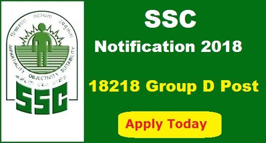 ssc Group D recruitment