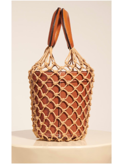 The Staud Moreau bucket bag