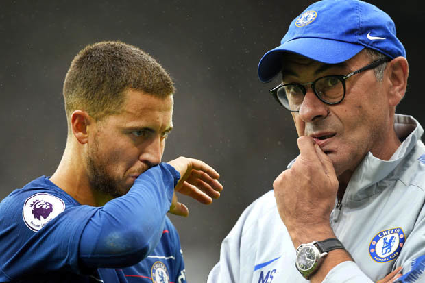 Manchester City vs Chelsea: Maurizio Sarri to revert back to Eden Hazard and the false-nine?