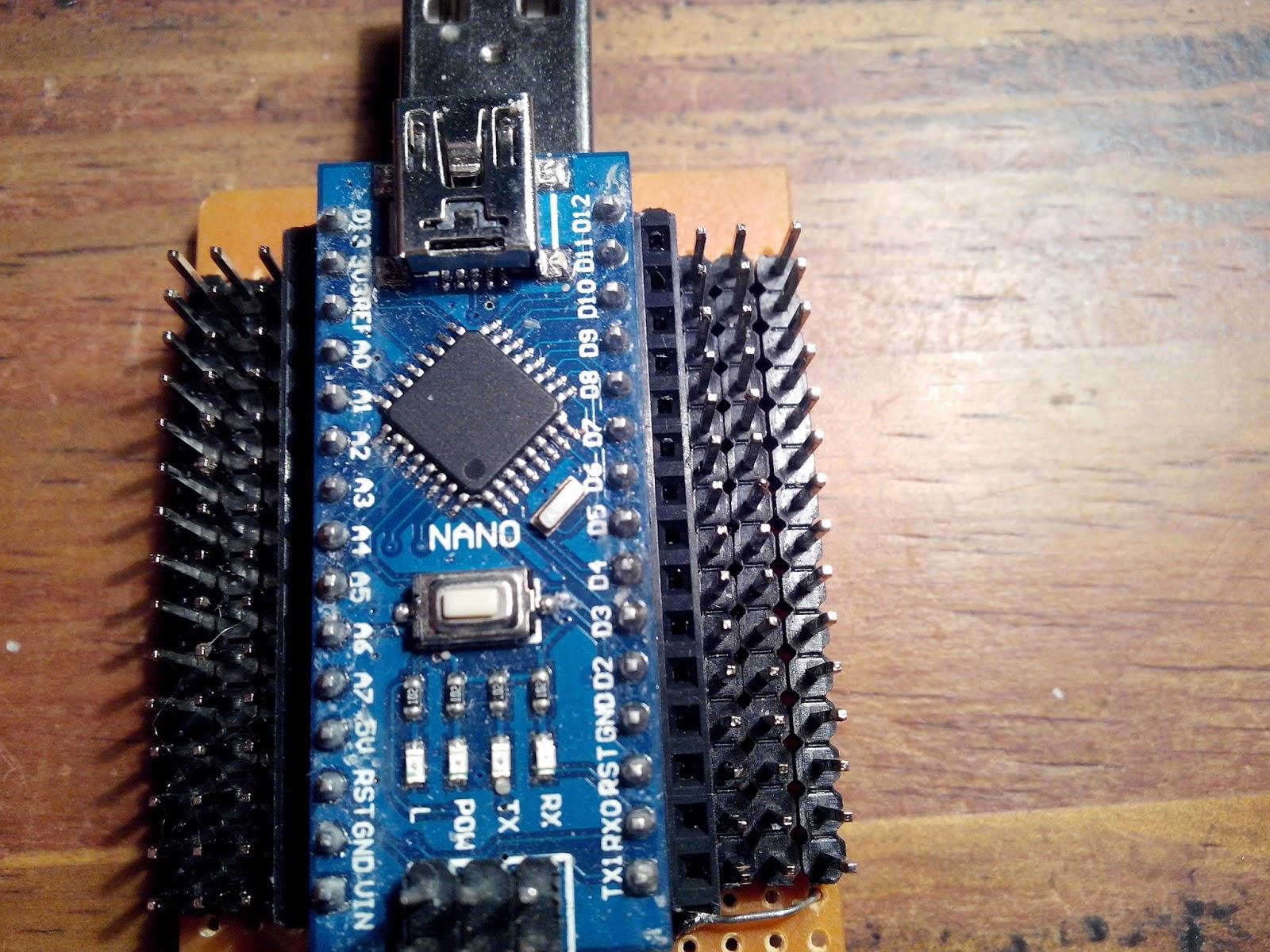 Electrónica arduino nano