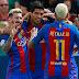 #Fútbol: Barcelona y el Real Madrid golean y la liga sigue igual