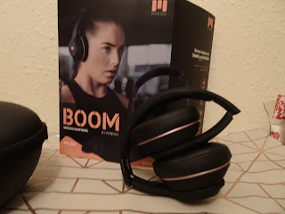 boom wireless headphones folded