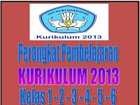 Administrasi Pembelajaran Kurikulum 2013 Kelas 1, 2, 3, 4, 5, 6 Terbaru