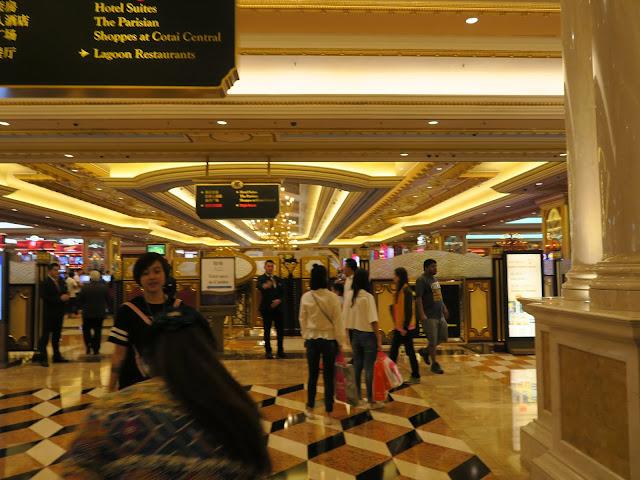 Macau ; Venetian Hotel casino