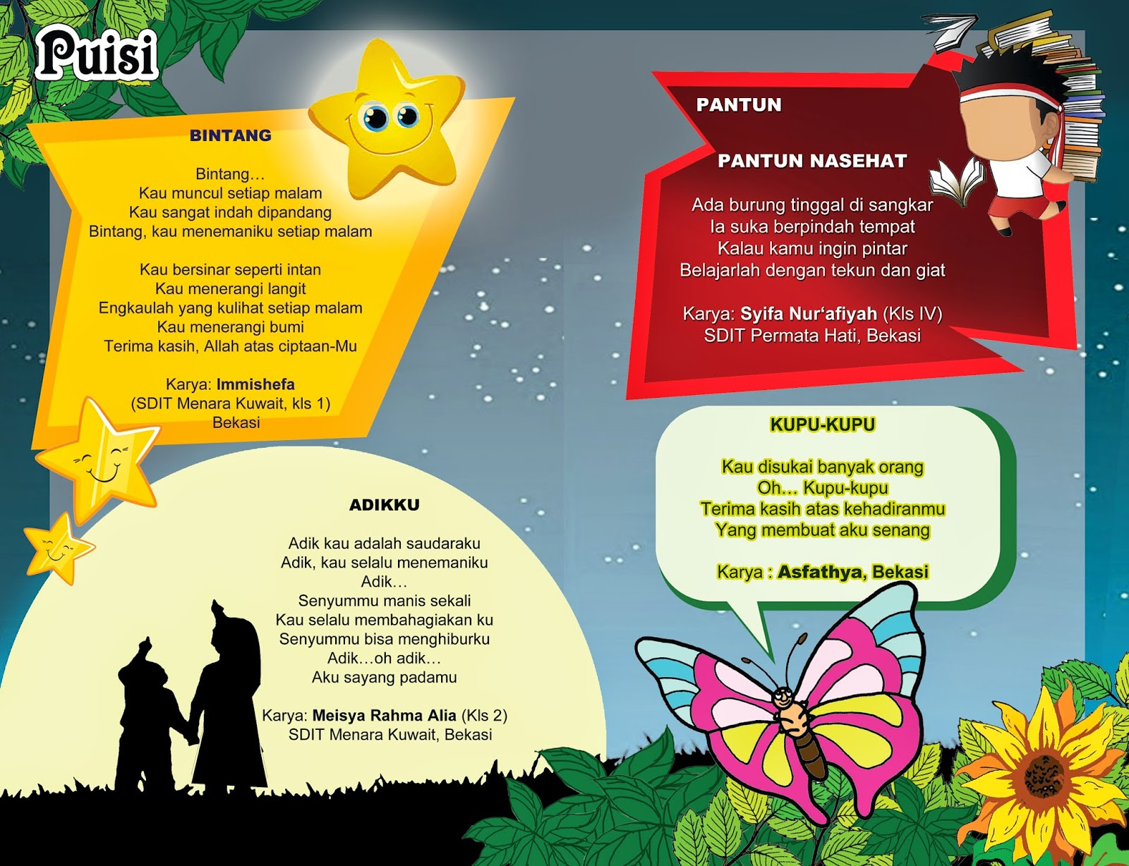 Karya Puisi Majalah Sahabat Perdana   Majalah Anak SAHABAT