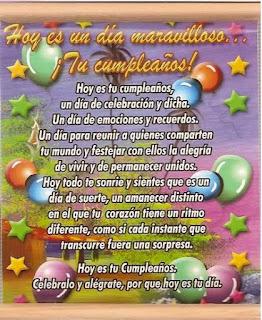 Felicitaciones de Cumpleaños 3