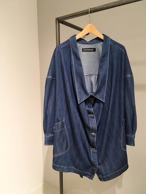 mercibeaucoup, 【メルシーボークー】デニわさシャツコート◆香川・綾川店