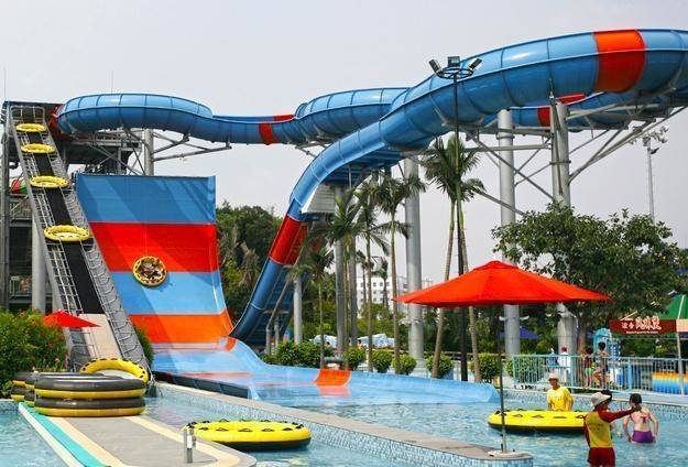 #16. Giant Slide, China - The World's 25 Scariest Waterslides… I'm Surprised #6 Is Even Legal.