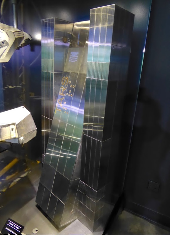 TARS robot prop Interstellar