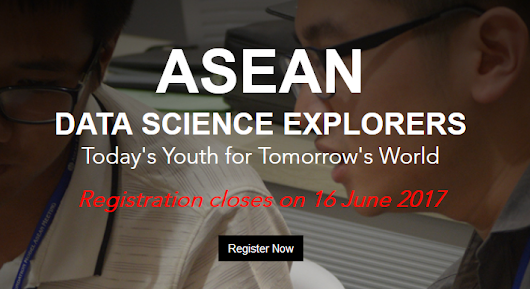 Launch of the ASEAN Data Science Explorers competition
