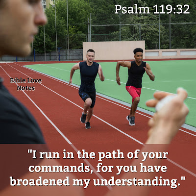 Running the Race of Faith With Perseverance according to Scripture. #Bible #Biblestudy #BibleLoveNotes
