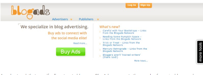 Ad Networks:BlogAds