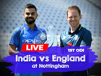 India vs England 1st ODI, Cricket live score