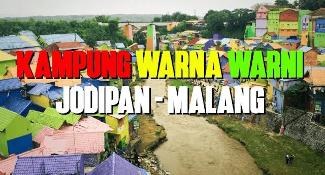 Indahnya Kampung Warna-Warni Jodipan Malang yang Colourfull