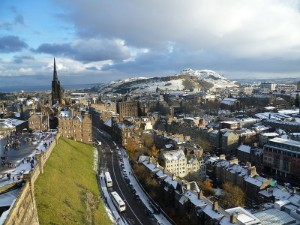 Edinburgh city scape