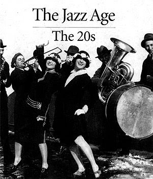 An history of the jazz era in the 1920s and the swing era in the 1930s