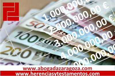 Reclamar herencia al banco en Zaragoza - Abogados especialistas en herencias en Zaragoza