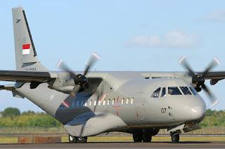 CN 235 TNI AU buatan PT DI