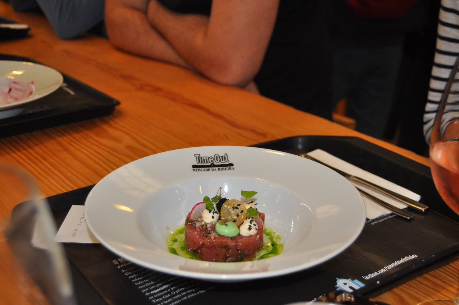 mercado da ribeiro, tuna tartare, 8 Great Discoveries in Lisbon, photo by Modern Bric a Brac