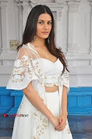 Telugu Actress Amyra Dastur Stills in White Skirt and Blouse at Anandi Indira Production LLP Production no 1 Opening  0115.JPG