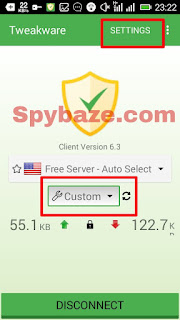Latest Tweakware custom settings for Glo 0.00kb free Browsing without Disconnection