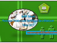 Surat Edaran Persiapan Pelaksanaan Sertifikasi Guru Madrasah tahun 2017