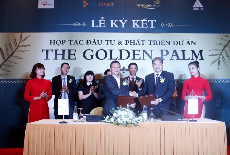 Ký kết hợp tác dự án The Golden Palm