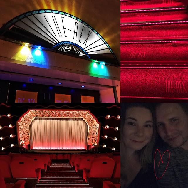 Date night at retro cinema The Rex Berkhamstead