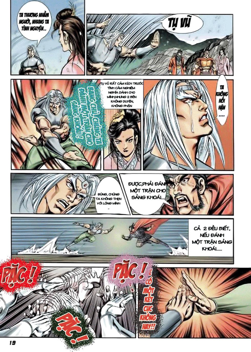 Tần Vương Doanh Chính chapter 8 trang 20
