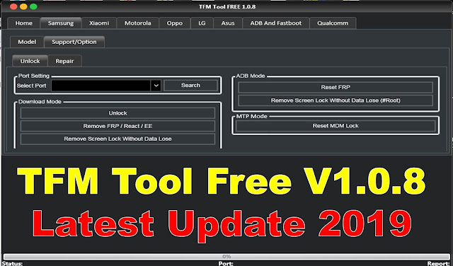 TFM FREE v1.0.8 Latest Update 2019 Tool By MobileflasherBD