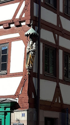 House detail, Nuremberg