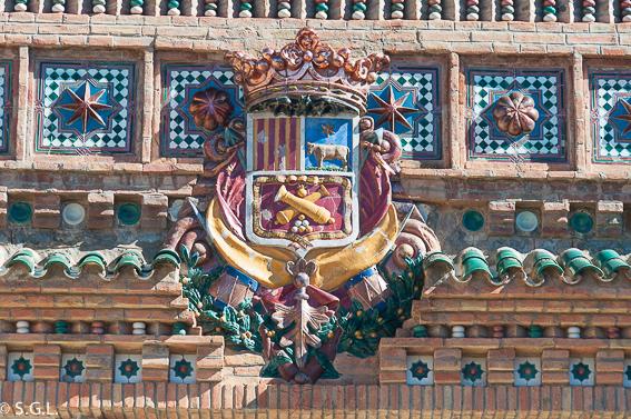 Escudo de Teruel. Visitando Teruel.