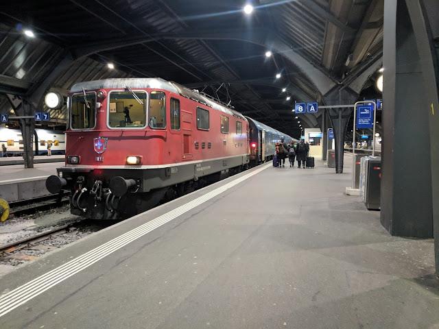 Главная станция Цюриха